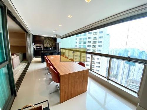 5 Qtos Apartamento De Luxo Lazer Completo Vila Da Serra - 5779