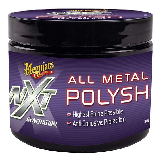 Meguiars Nxt Metal Polish 142 Gr - Pulidor De Metal