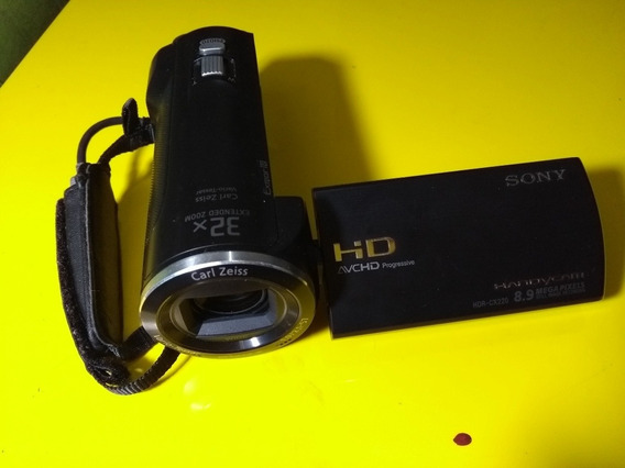 Câmera Filmadora Sony Handycam Full Hdr- Cx220