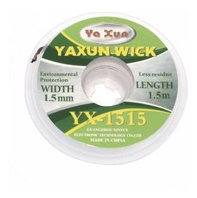 Malha Dessoldadora Yaxun Yx-1515 1,5mm 1,5m Bga Reball Cobre