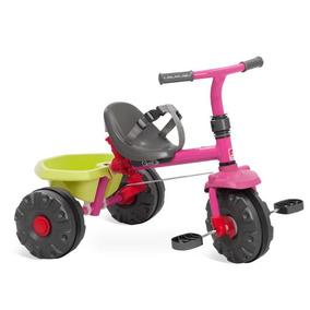Triciclo Smart Plus Rosa Bandeirante - 281