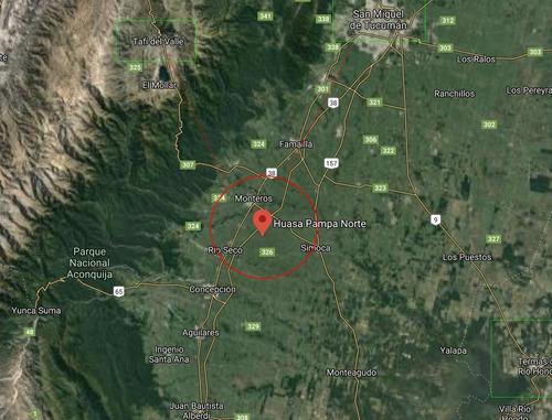 Increíble Campo En Monteros, A 70klmde Tafi Del Valle Y A 120klm De San Miguel De Tucuman - 15 Ha