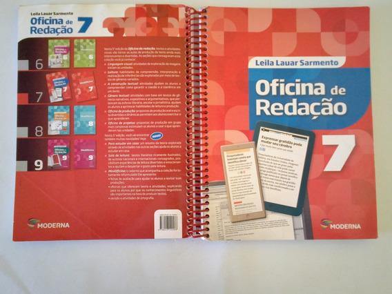 Livro Oficina Redação 7 Edit. Moderna Usado Barato