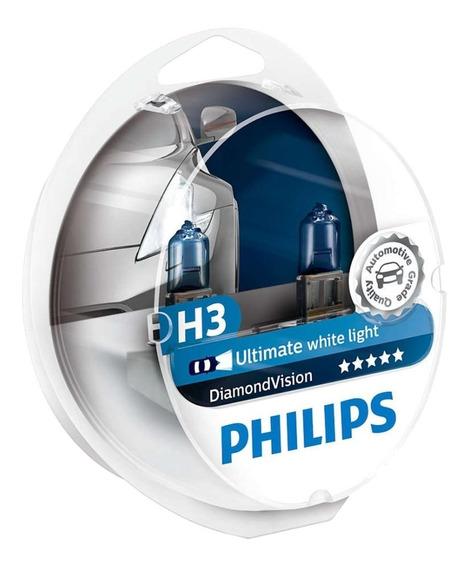 Lampada Diamond Vision H3 Philips Original