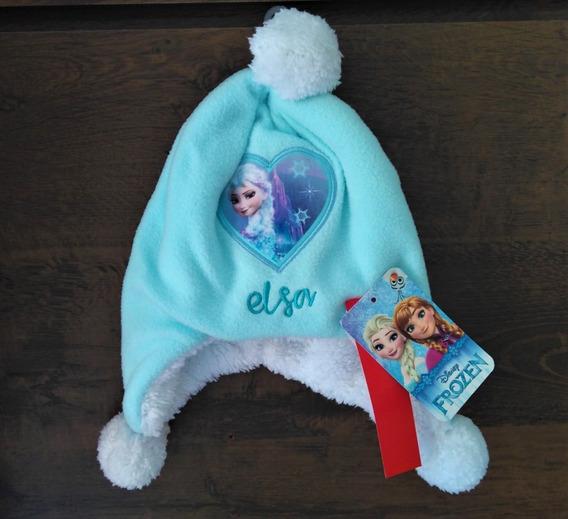 Gorro Touca Infantil Princesa Elsa Frozen Disney Quentinha