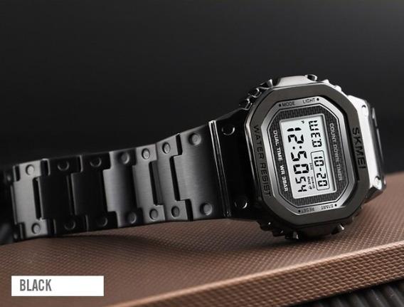 Relógio - Skmei - G-digital - Original 1456 - Aço