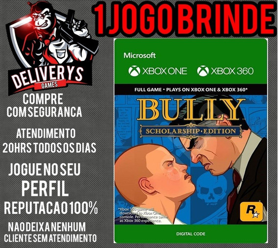 Bully Xbox One Midia Digital + 1 Brinde