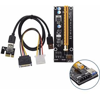 Riser Card Pci-e Usb3.0 Para Mineração Ethereum/bitcoin