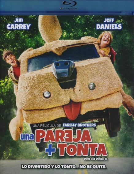 Una Pareja + Mas Tonta Dumb & Dumber To Pelicula Blu-ray