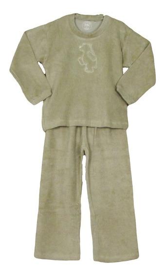 Pijama Infantil Fofinho Unifloc Plush Quentinho