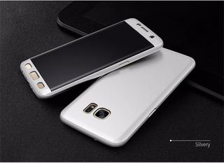 Funda Cubre Completo 360 Samsung S6/s7/edge/s8/plus Sin Glas