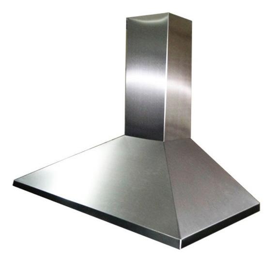 Campana Extractora Cocina Piramidal Acero Inox 90 Cm Cuotas