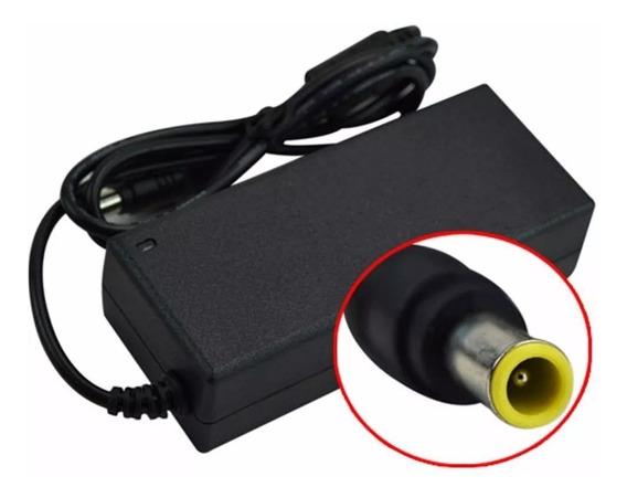 Fuente Cargador Monitor Tv Lg 24mt45d 19v 3,4a 6,5 X 4,4 Mm
