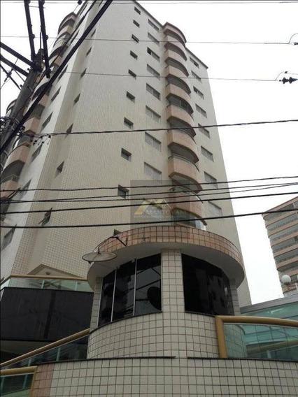 Apartamento Com 3 Dormitórios, Sendo 01 Suíte, Com Vista Do Mar, 90 M² - Aviação - Praia Grande/sp - Ap1723