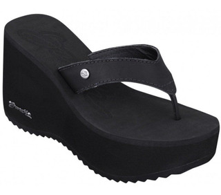 Chinelo Anabela Barth Shoes Sorvete Preto 1.12883