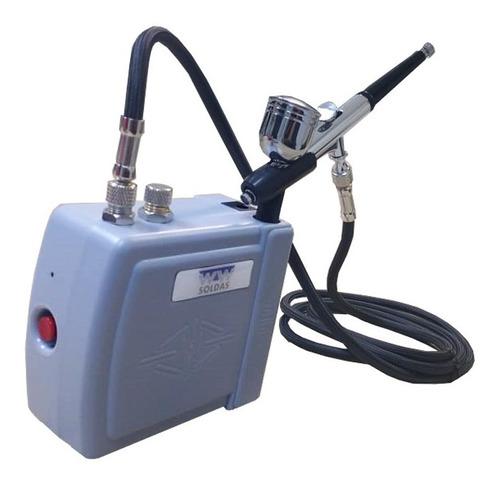 Kit Completo P/ Confeitaria - Compressor+aerografo