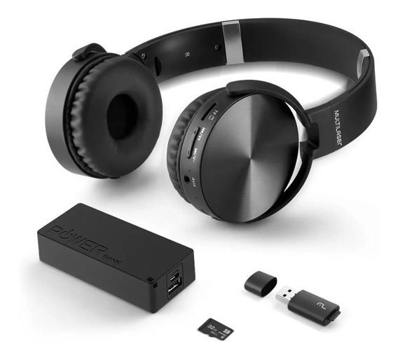Headphone Bluetooth Musica Play Sd/aux/fm Mc250 Oferta Loi