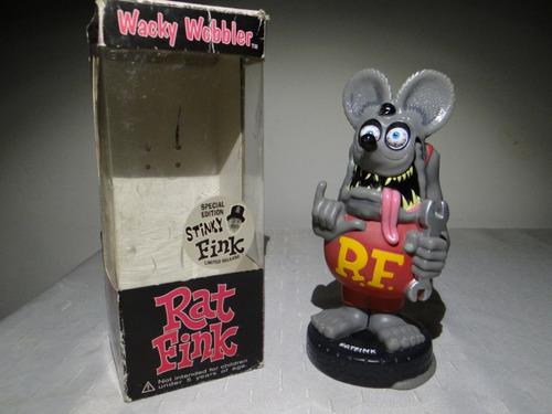 Rat Fink Wacky Wobbler Funko Version Gris
