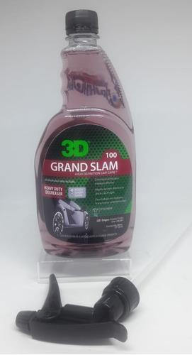 Imagen 1 de 2 de 3d Grand Slam 3/4l Desengrasante Motores - Highgloss Rosari