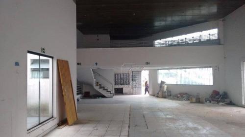 Salão Para Alugar, 750 M² Por R$ 12.000,00/mês - Parque Das Nações - Santo André/sp - Sl0520