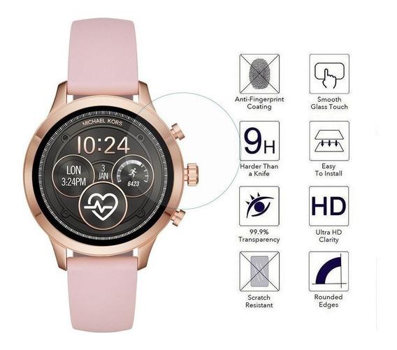 Mica De Cristal Templado Smartwatch Michael Kors Runway