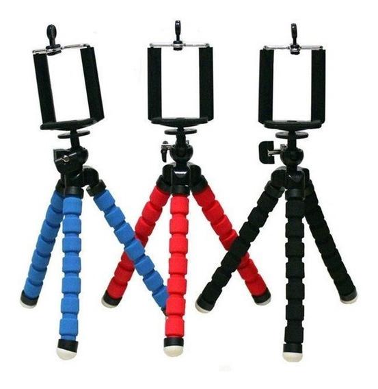 Kit Self Foto Video, 1 Luminária,1 Mãozinha E 1 Tripé Cel.