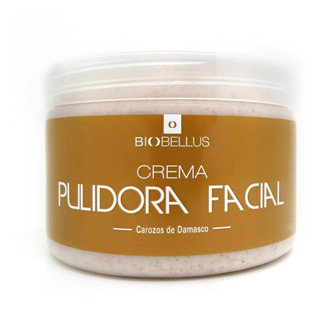 Crema Pulidora Facial X 500 Ml Carozo Damasco - Biobellus