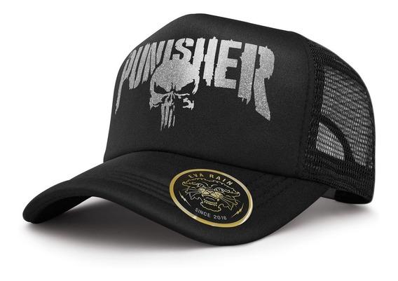 Gorra Trucker Punisher Comic Netflix Modelo Exclusivo
