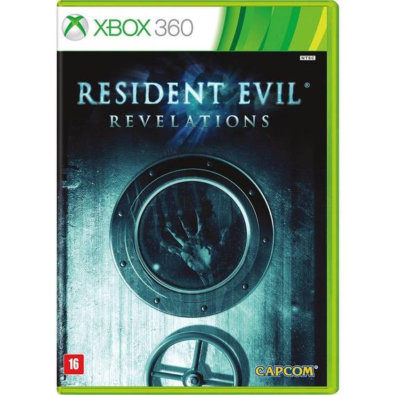 Resident Evil Revelations Xbox 360 Mídia Física Em Português