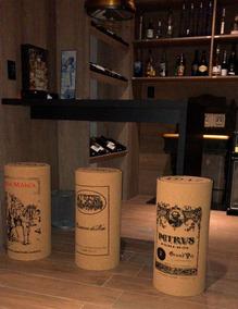 Banqueta De Rolha De Vinho - Estilo Vintage