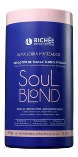 Richée Soul Blond - Repositor De Massa Termo Ativado 1kg
