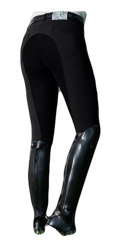 Imagen 1 de 3 de Pantalones De Equitación De Mujer Elástico Cintura Alta Legg