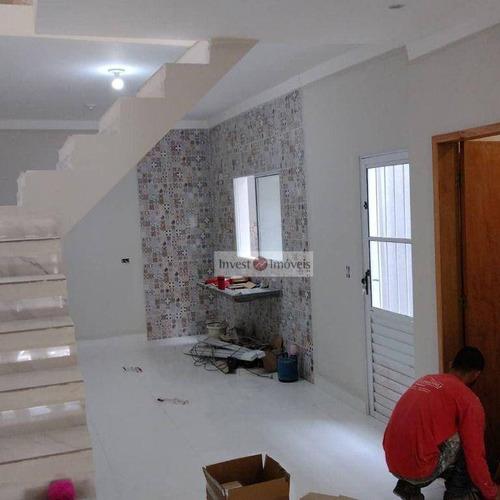 Sobrado Com 3 Dormitórios À Venda, 134 M² Por R$ 380.000,00 - Parque Interlagos - São José Dos Campos/sp - So1477