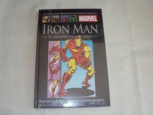 Iron Man - El Demonio En La Botella + 3 Libros Salvat