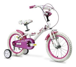 Bicicleta Rod 12 Barbie (original Rayo D/acero) Works!!