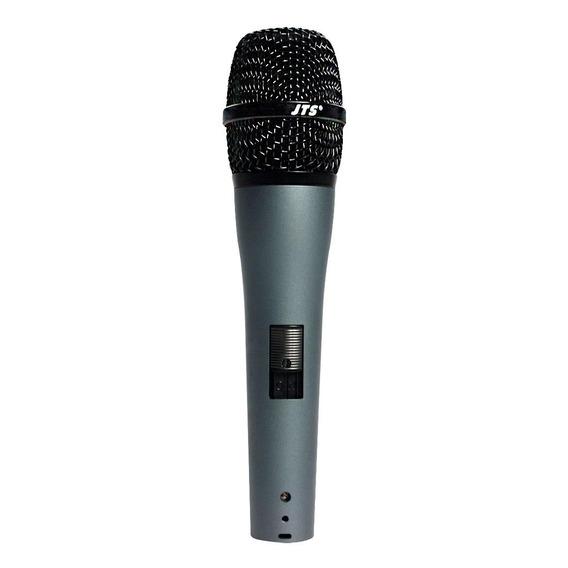 Microfone Bastão Vocal Dinâmico Cardióide Jts Tk 350