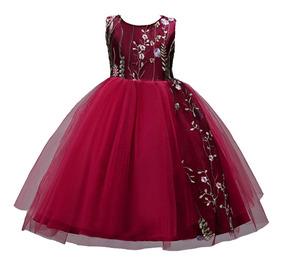 Vestido Niña Fiesta Paje/cumpleaños/ Varios Colores