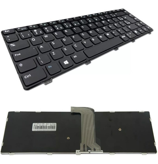 Teclado Notebook Dell Inspiron 14r 3421 3437 5421 5437 3660