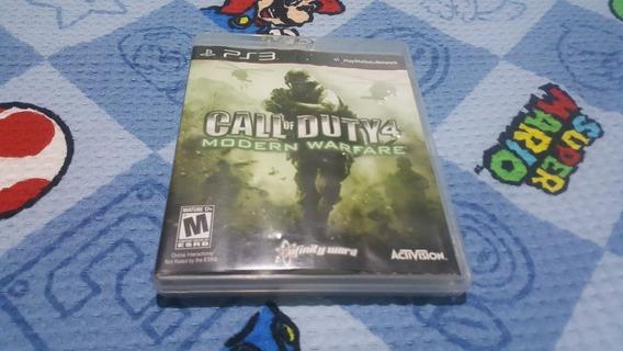 Call Of Duty 4 Modern Warfare (leia Atentamente A Descrição)
