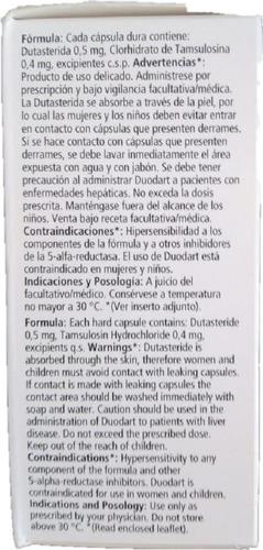 Prostata Desinflamante Duodart 0 Unidad A 3667 Mercado Libre