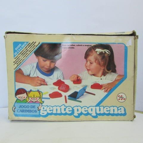 Sem Escala Definida Trol Jogo De Carimbos C/caixa Jorgetrens