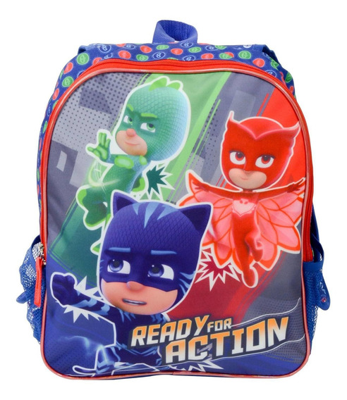 Pj Mask - Mochila Reversible - Escolar - Italtoys
