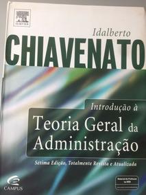 Introdução À Teoria Geral Da Administração - Chiavenato