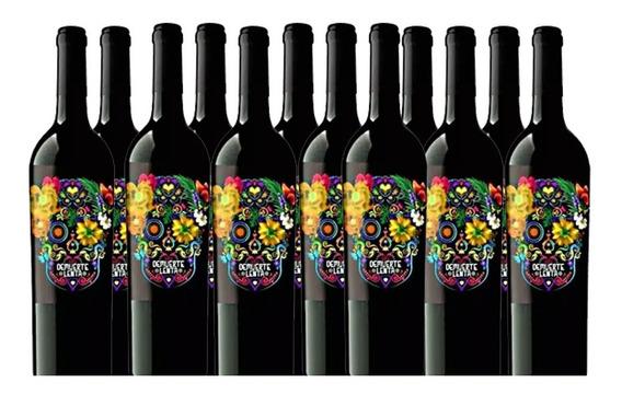 Caja De 12 Vino Blanco Demuerte Botella 0,75l Winery-on