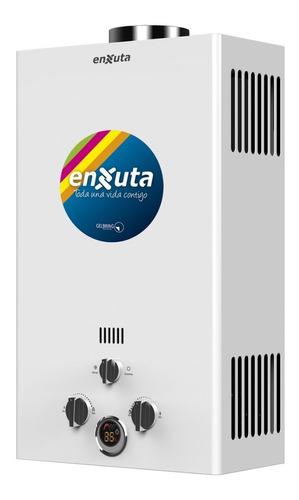 Calentador A Gas Enxuta 10 Lts Clase A 3 Años Gtia Dimm