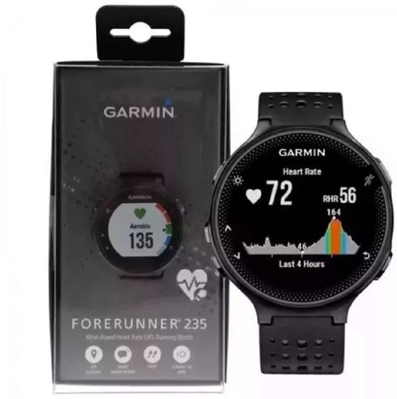 Relógio Smartwatch Monitor Cardíaco Garmin Forerunner 235