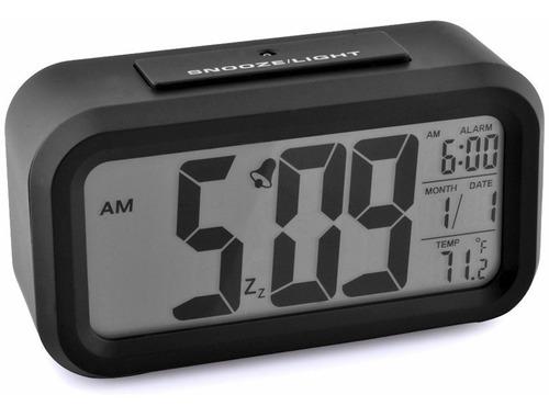 Reloj Despertador Con Fecha Y Temperatura Alarma Grandes ®