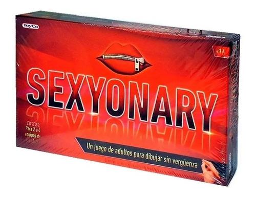 Imagen 1 de 10 de Sexyonary Juego De Mesa Adolescentes Adultos Original Toyco