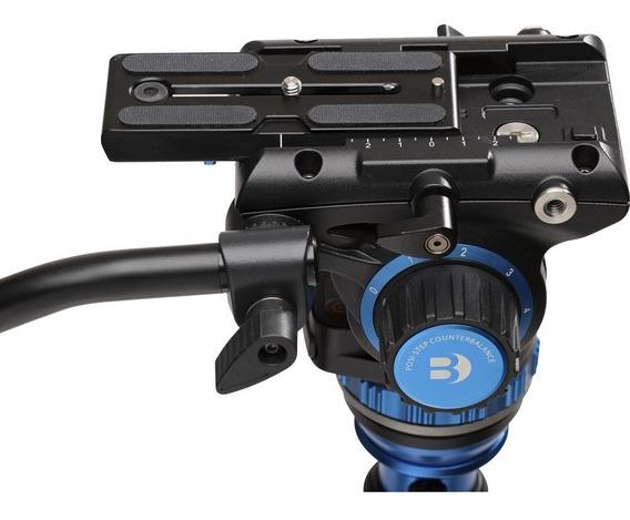 Cabeça Hidráulica Benro S6 Pro Fluid Video Head S6pro P/ 6kg