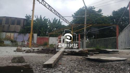 Terreno À Venda, 940 M² Por R$ 1.275.000,01 - Utinga - Santo André/sp - Te1130
